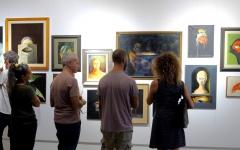 Inaugurazione della mostra di Giuseppe Bartolomei