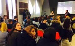 Massimiliano Usai - Incontro con i ragazzi dell'Istituto Superiore Caduti della Direttissima
