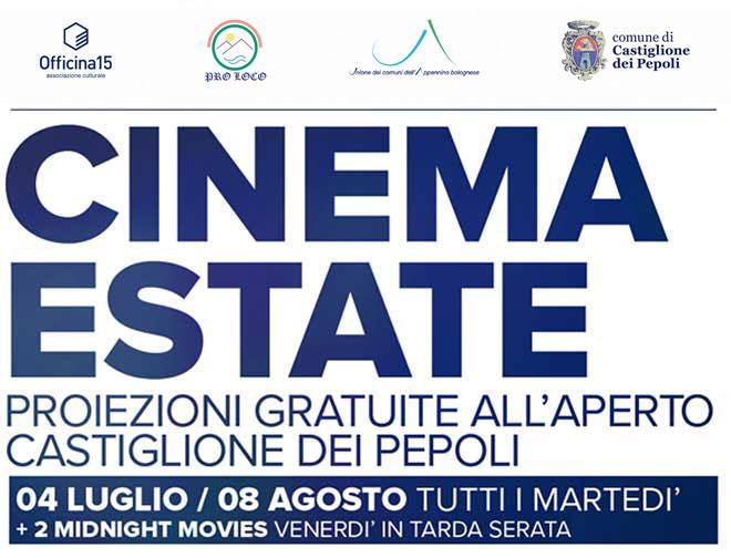 Cinema Estate - Proiezioni Gratuite all'aperto a Castiglione dei Pepoli